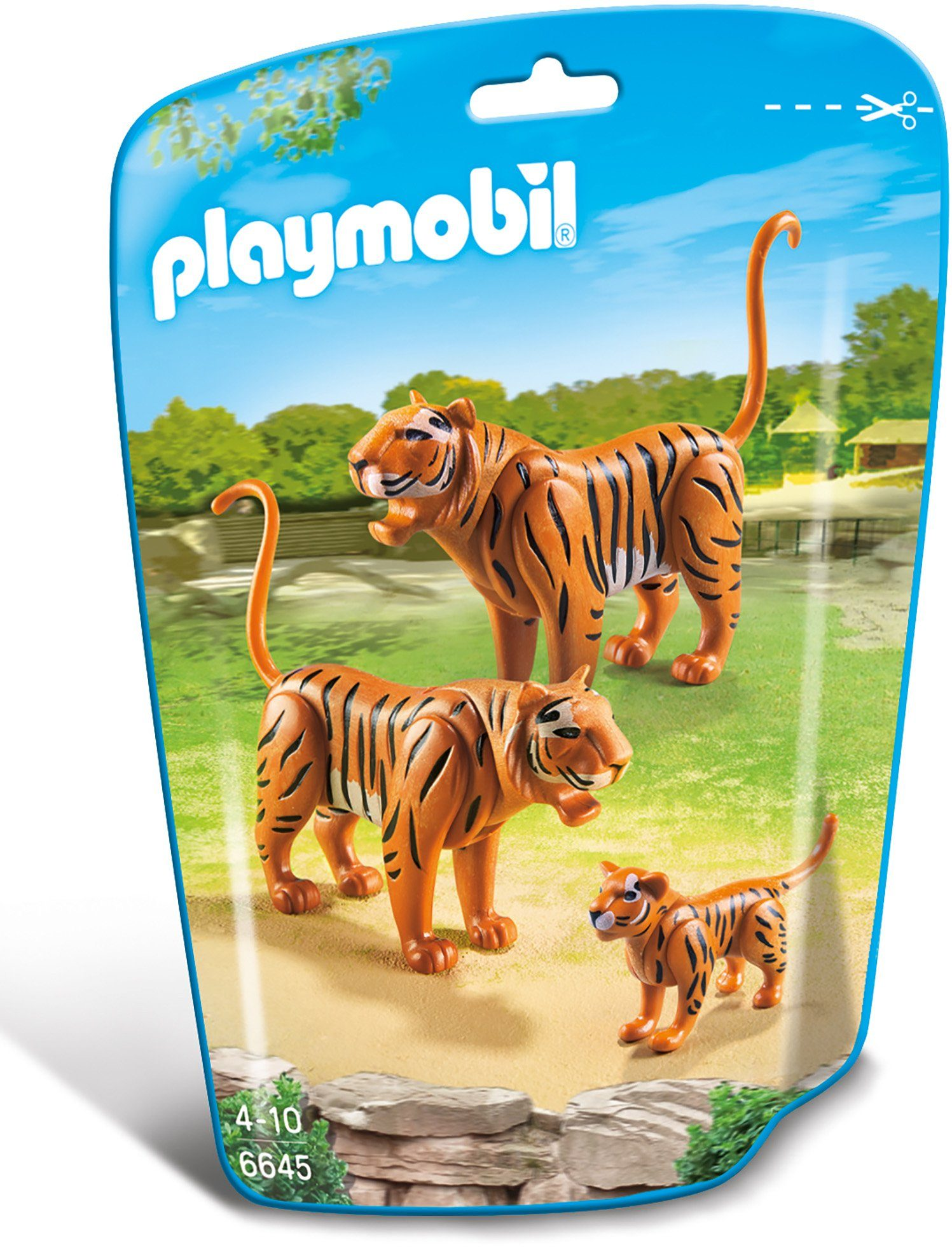 Playmobil® 2 Tiger mit Baby (6645), »City Life«