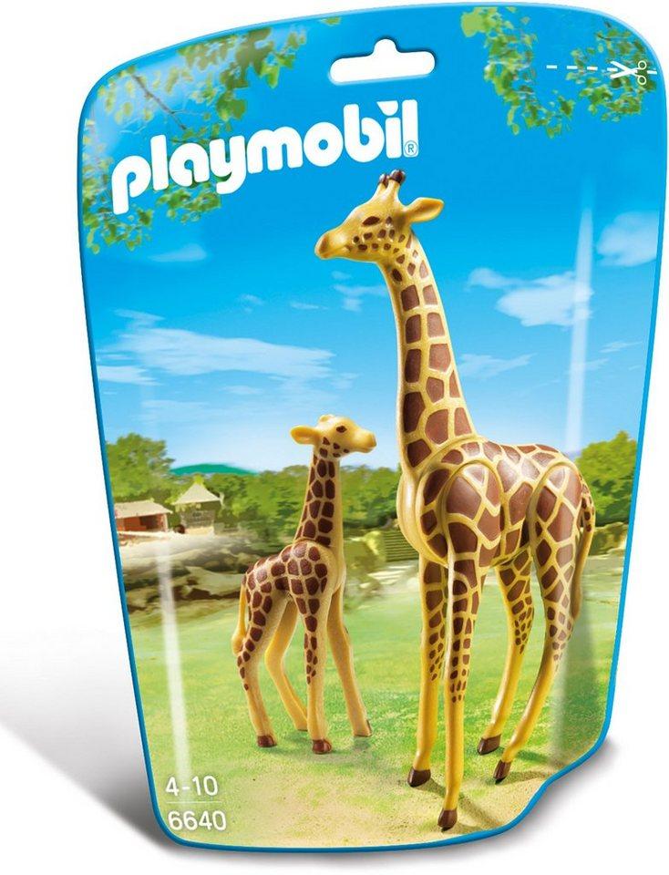 Playmobil® Giraffe mit Baby (6640), »City Life«