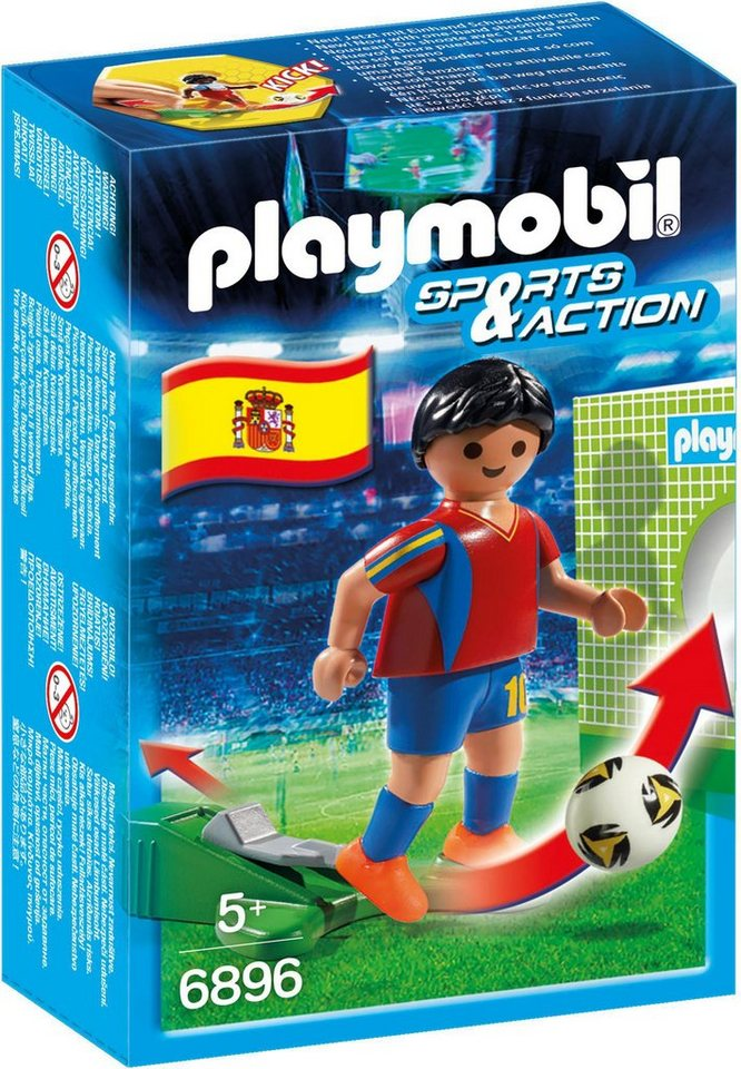 Playmobil® Fußballspieler Spanien (6896), »Sports & Action«