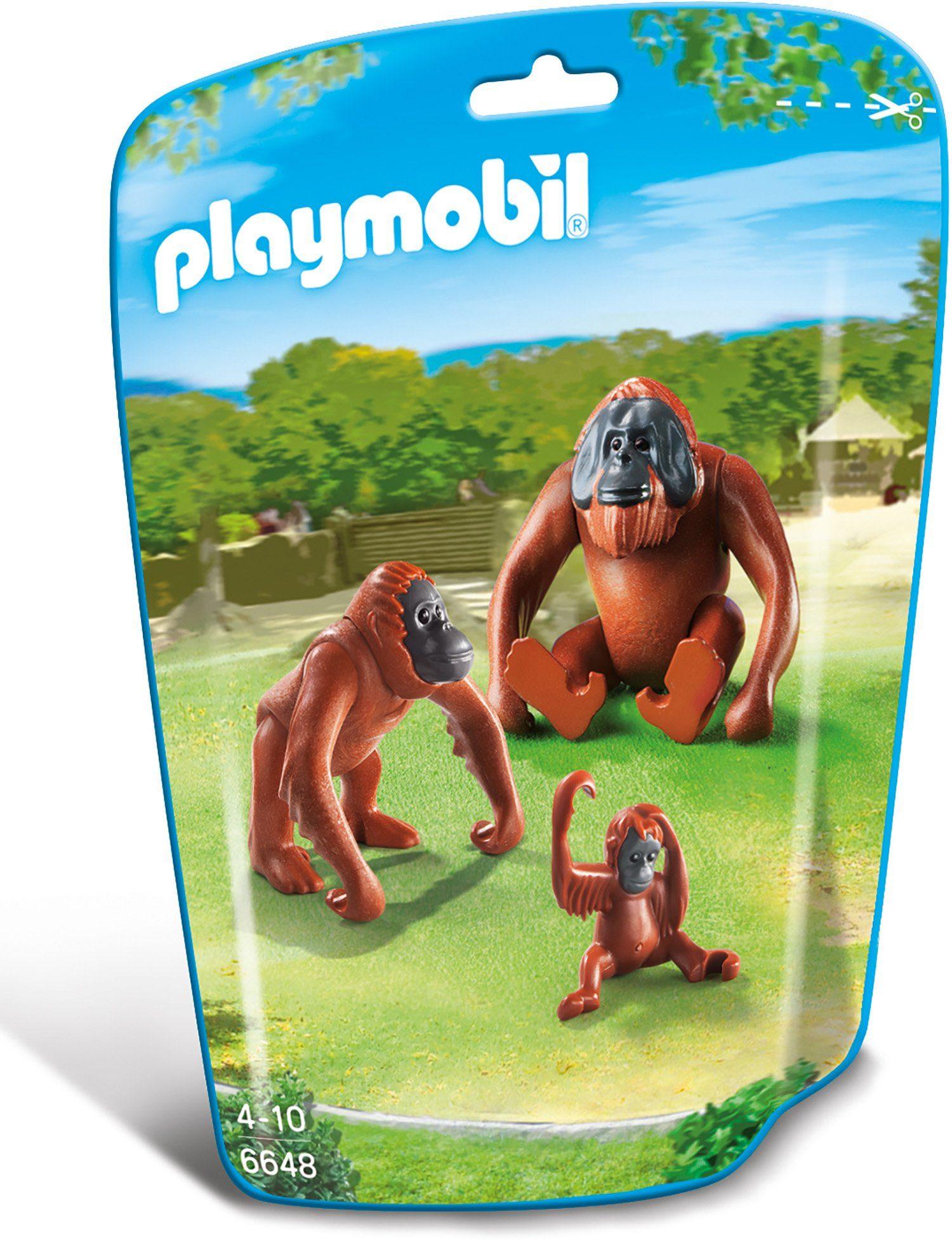 Playmobil® 2 Orang Utans mit Baby (6648), »City Life«