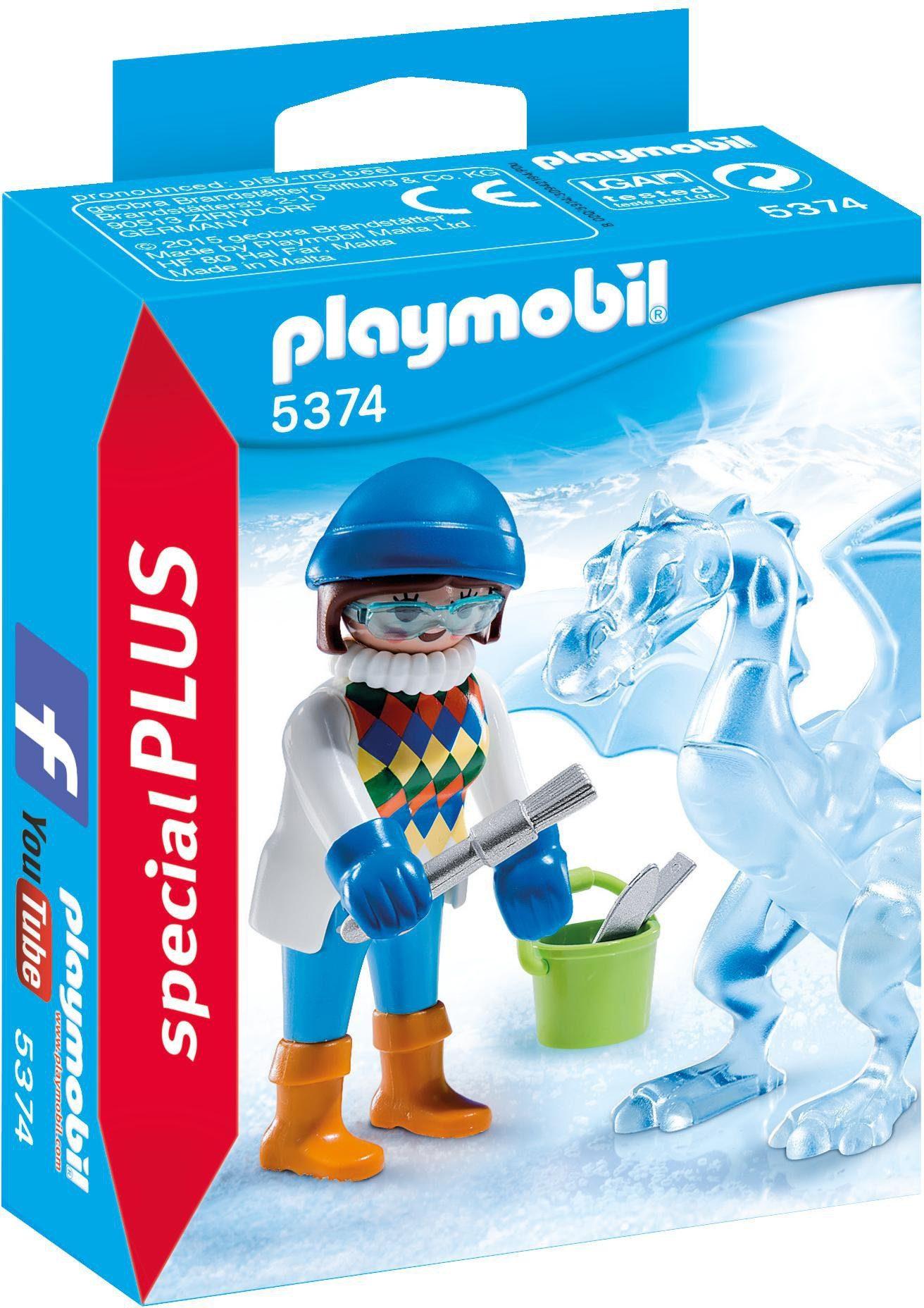 Playmobil® Künstlerin mit Eisskulptur (5374), »Special Plus«