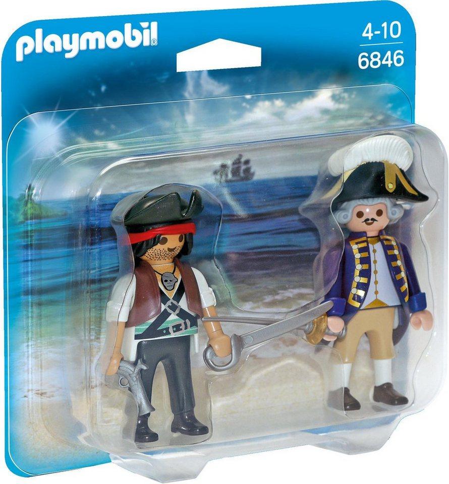 Playmobil® Duo Pack Pirat und Soldat (6846), »Pirates«