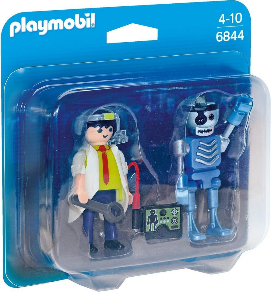 Playmobil® Duo Pack Professor und Roboter (6844), »City Action«