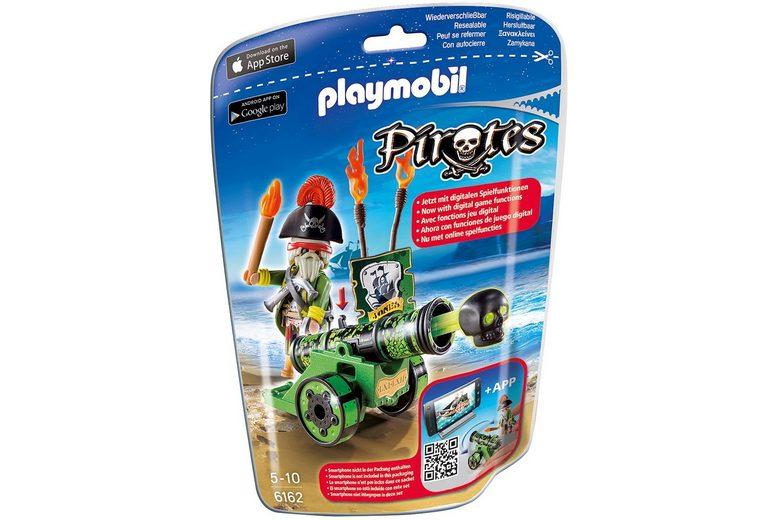 Playmobil® Grüne App-Kanone mit Piratenkapitän (6162), »Pirates«
