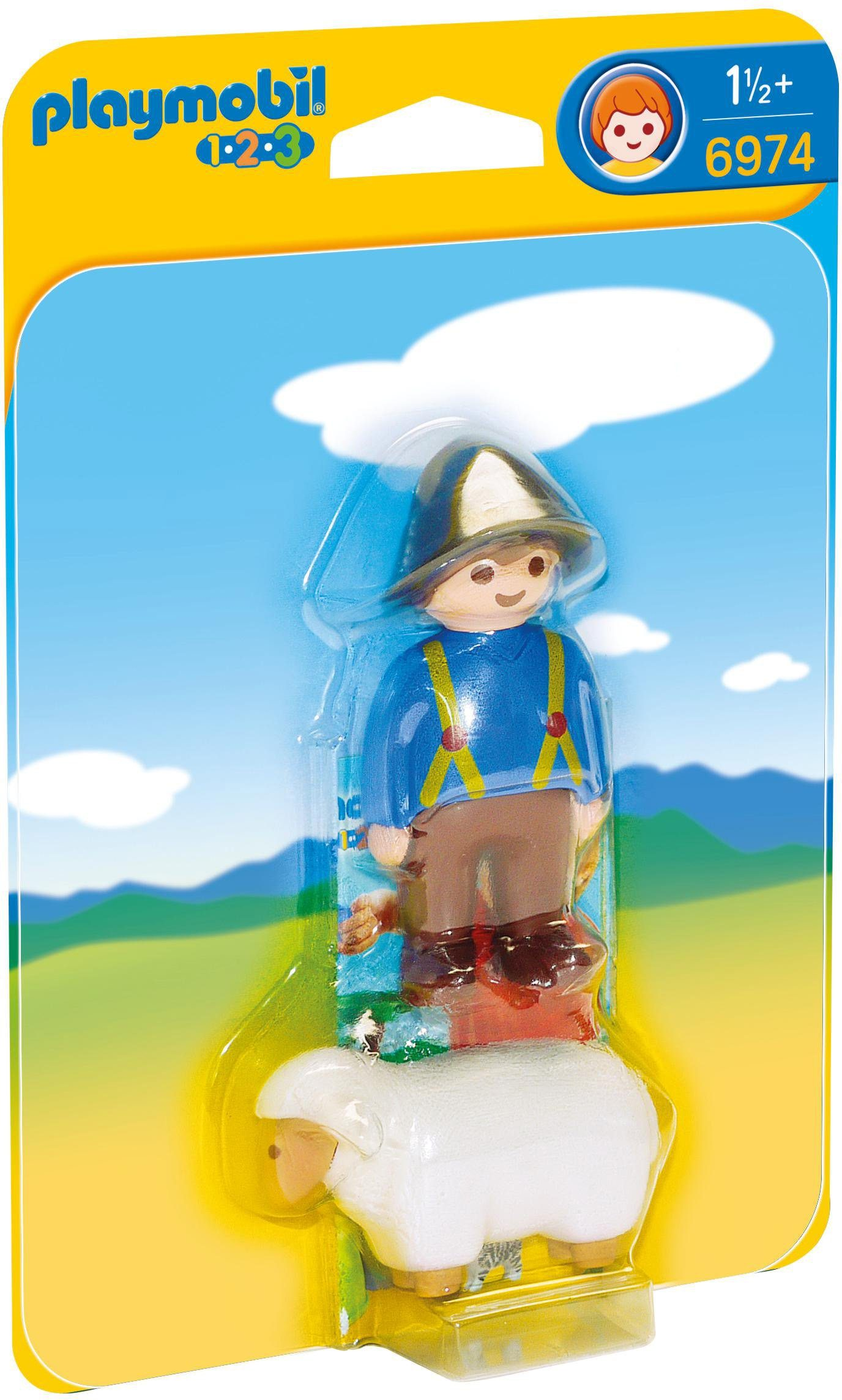 Playmobil® Schäfer mit Schaf (6974), »Playmobil 1-2-3«