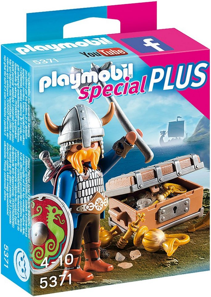 Playmobil® Wikinger mit Goldschatz (5371), »Special Plus«