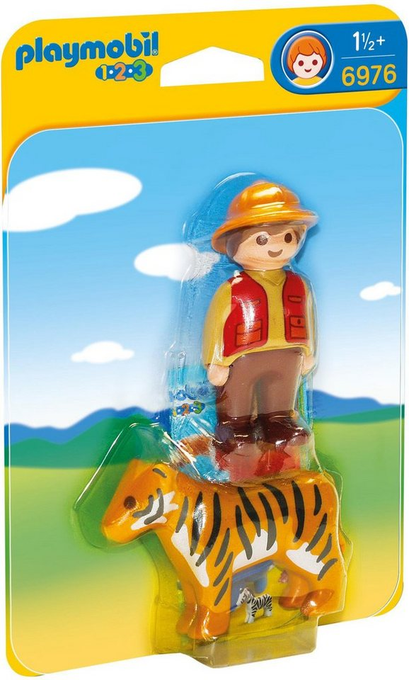 Playmobil® Wildhüter mit Tiger (6976), »Playmobil 1-2-3«