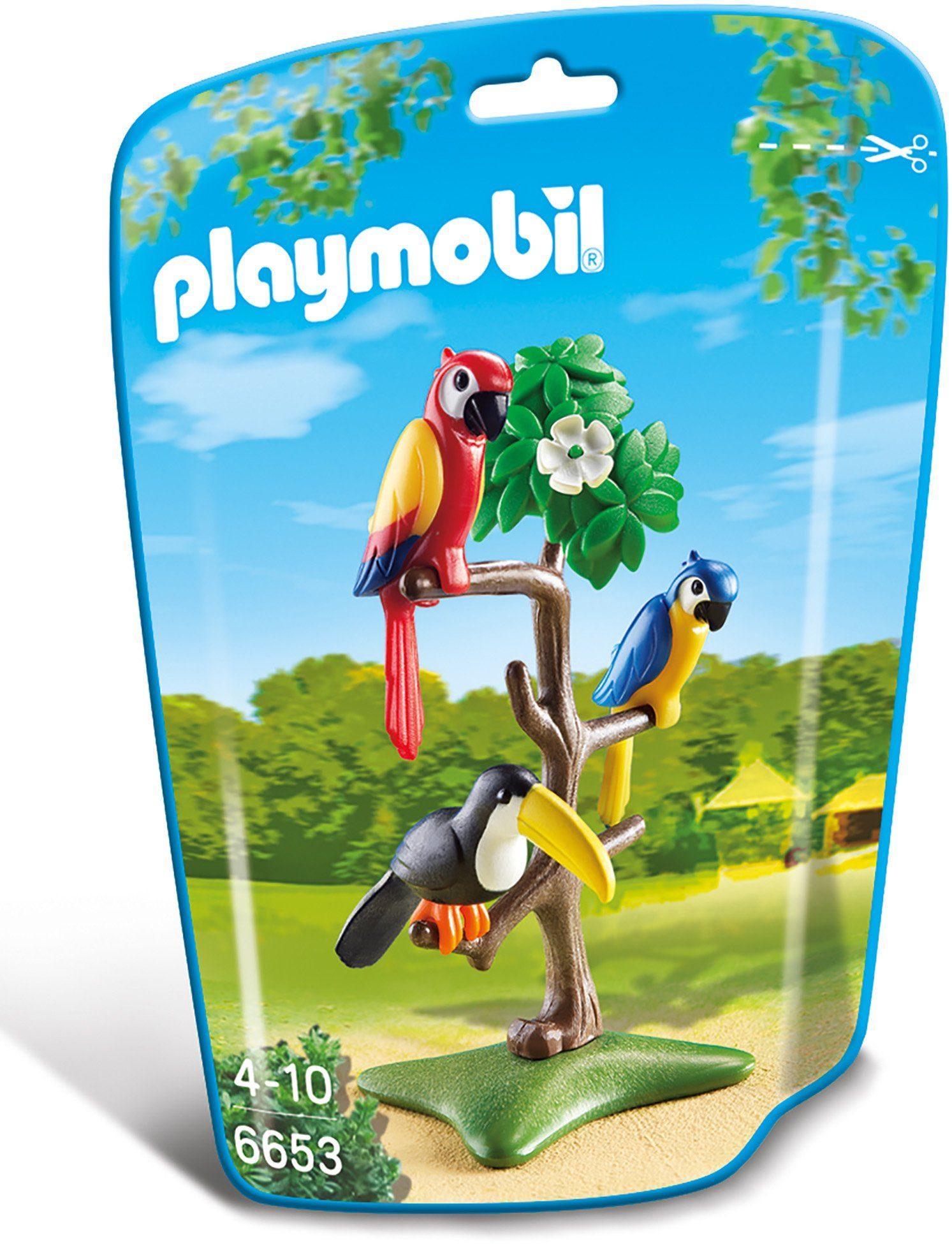 Playmobil® Papageien und Tukan im Baum (6653), »City Life«