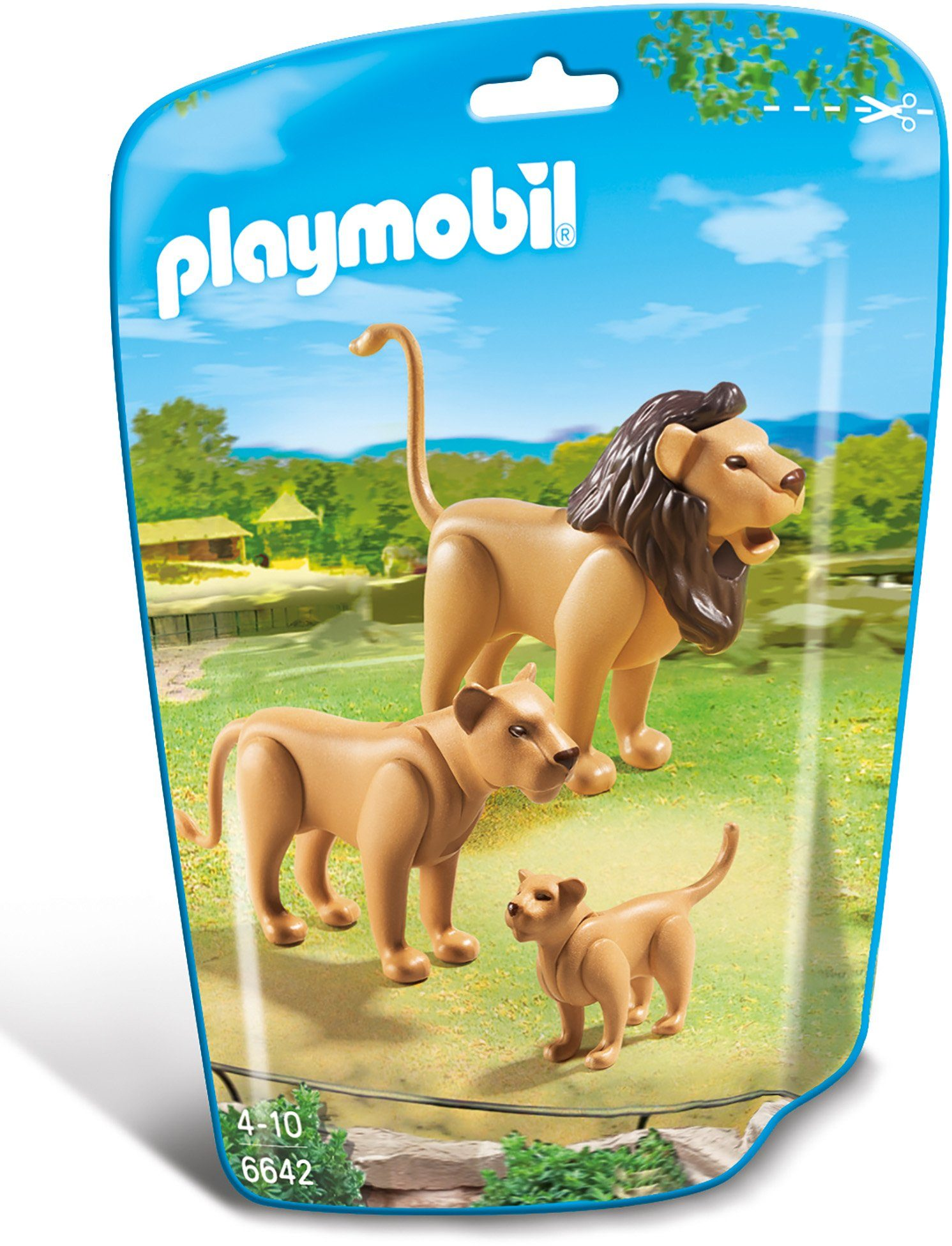 Playmobil® Löwenfamilie (6642), »City Life«