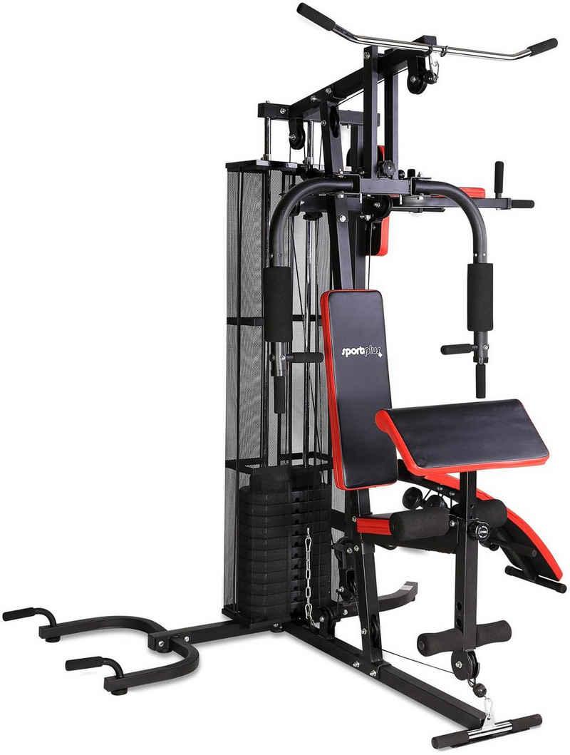 SportPlus Kraftstation »SP-HG-015«, 12 Gewichtsblöcke