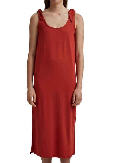 edc by Esprit Jerseykleid mit Knotendetail an den Trägern