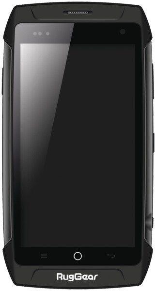 RugGear Robustes, wasserdichtes Outdoor-Smartphone »RG730« in schwarz