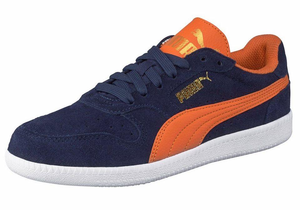 PUMA Sneaker »Icra Trainer SD Junior« in dunkelblau-orange