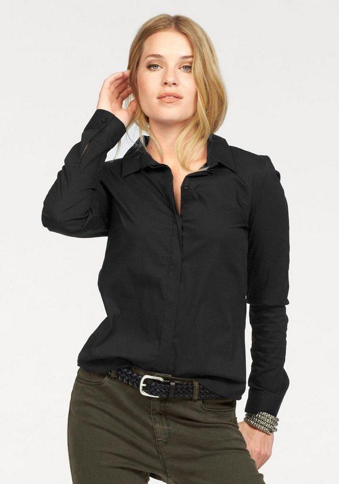 Vero Moda Klassische Bluse »LADY« in schwarz