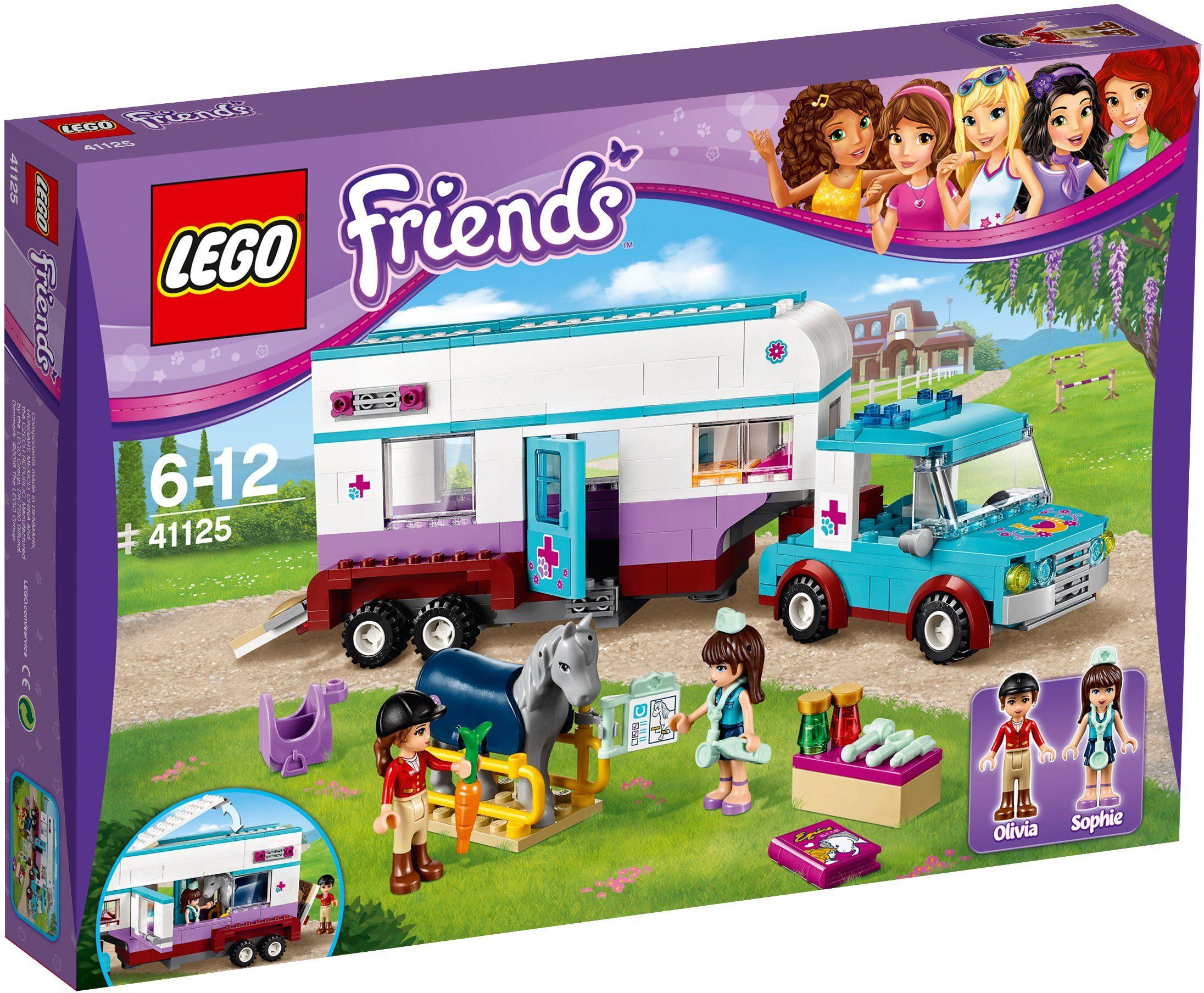 LEGO®, Pferdeanhänger und Tierärztin (41125), »LEGO® Friends«