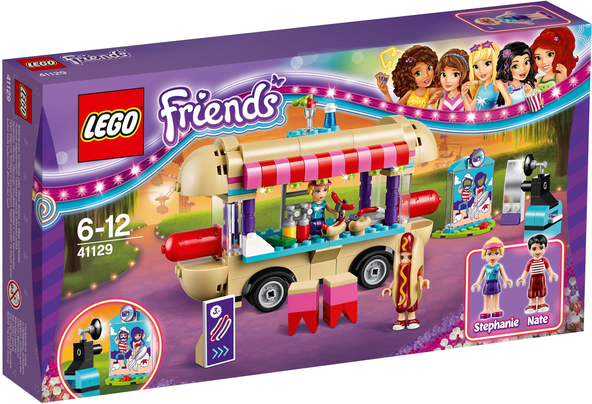 LEGO®, Hot Dog Stand im Freizeitpark (41129), »LEGO® Friends«