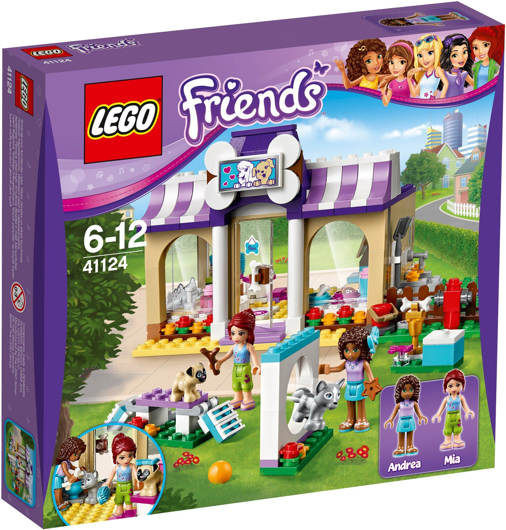 LEGO®, Heartlake Welpen Betreuung (41124), »LEGO® Friends«