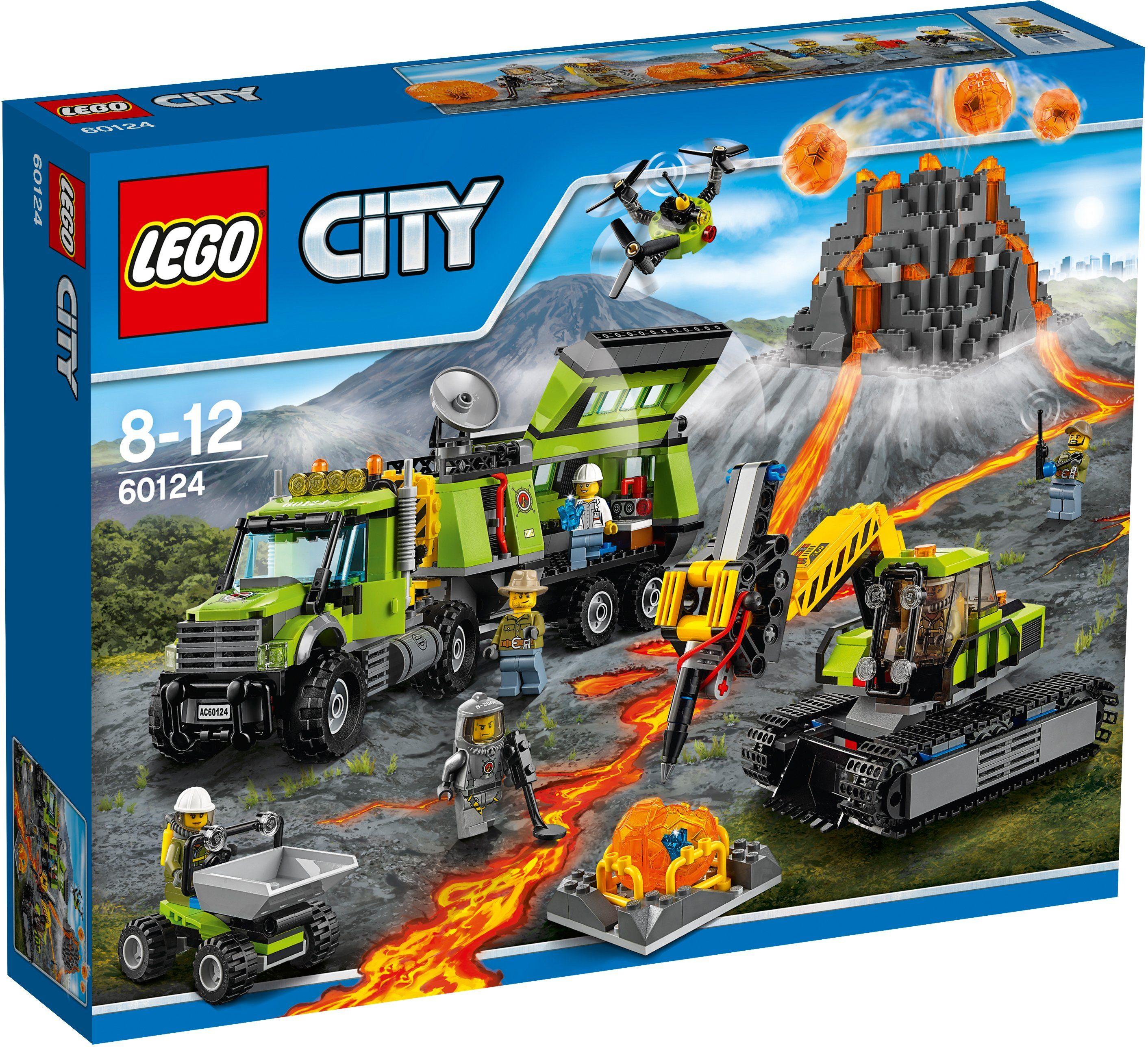LEGO®, Vulkan Forscherstation (60124), »LEGO® City«