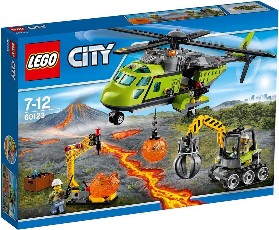 LEGO® Vulkan Versorgungshelikopter (60123), »LEGO® City«