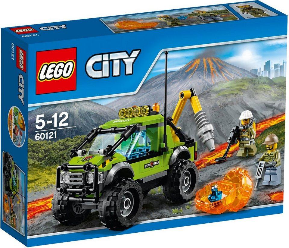 LEGO®, Vulkan Forschungstruck (60121), »LEGO® City«