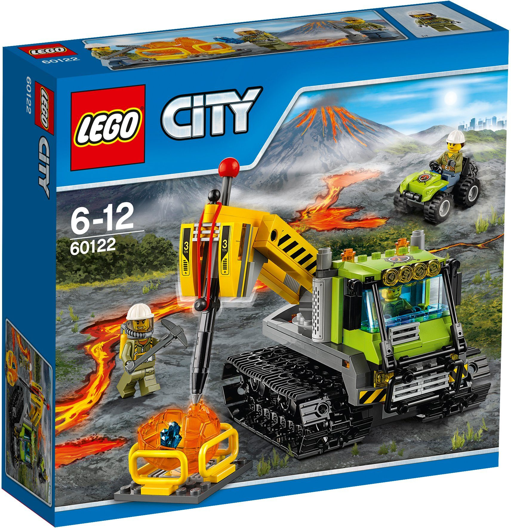 LEGO®, Vulkan Raupe (60122), »LEGO® City«