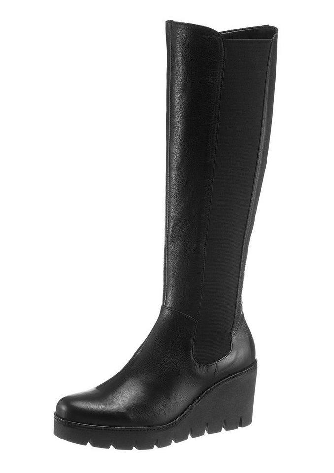 Gabor Keilstiefel in schwarz
