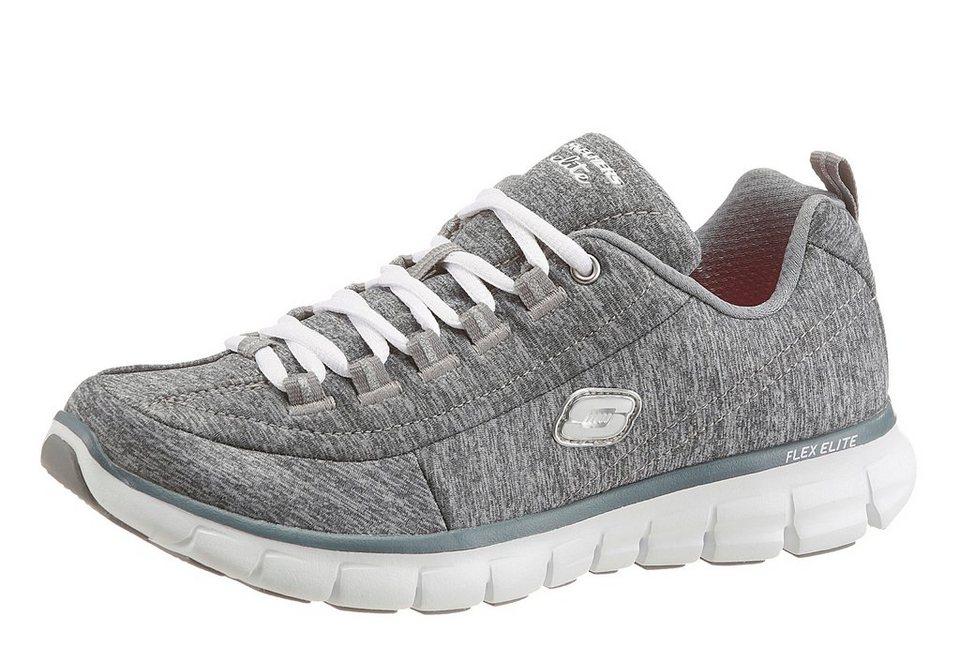 Skechers »Synergy-Spot On« Sneaker mit Memory Foam in grau