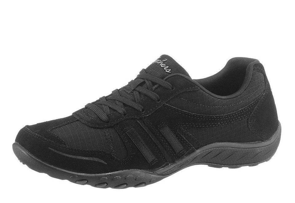 Skechers »Breathe-Easy-Jackpot« Sneaker in sportiver Optik in schwarz