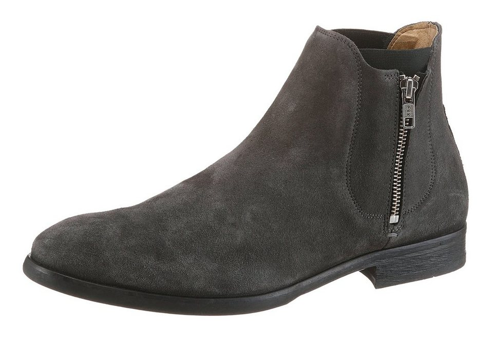 Hudson London »Mitchell« Chelseaboots in grau