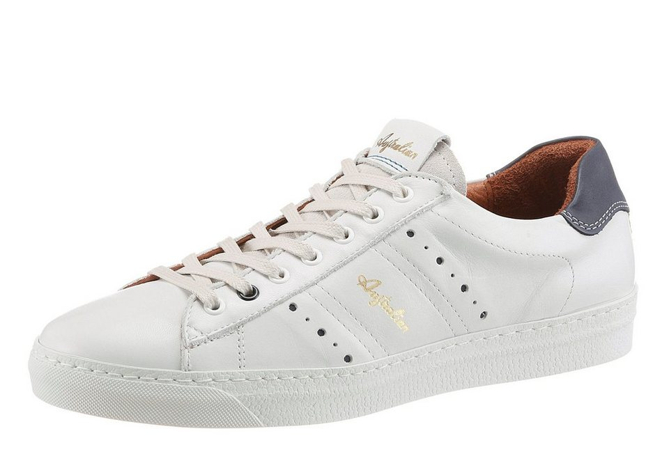 Australian »Ivanisevic« Sneaker Lederinnensohle herausnehmbar in weiß