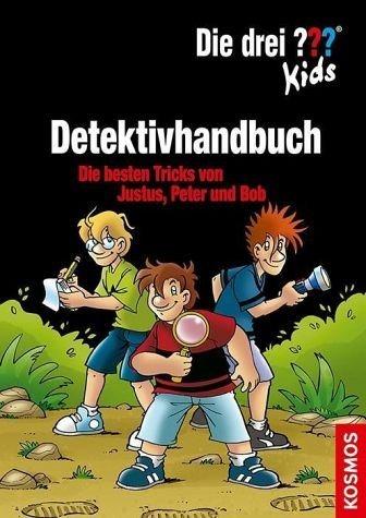 Gebundenes Buch »Die drei ??? Kids Detektivhandbuch (drei...«