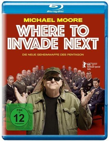 Blu-ray »Where to Invade Next«