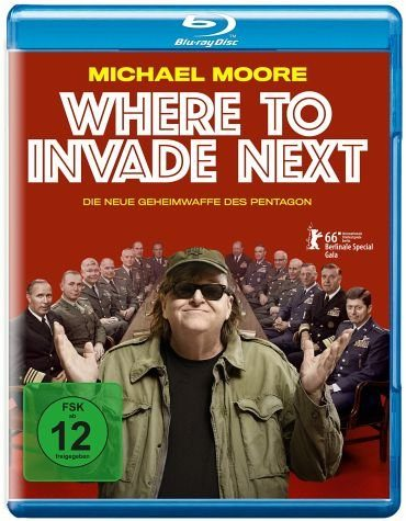 Blu-ray »Where to Invade Next«