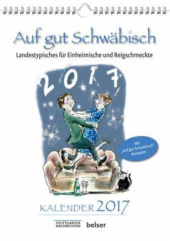 Kalender »Auf gut Schwäbisch Kalender 2017«