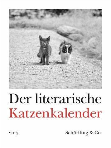 Kalender »Der literarische Katzenkalender 2017«
