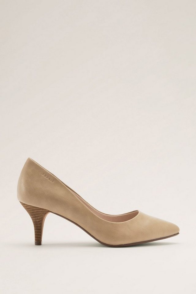 ESPRIT CASUAL Eleganter Pumps in TAUPE
