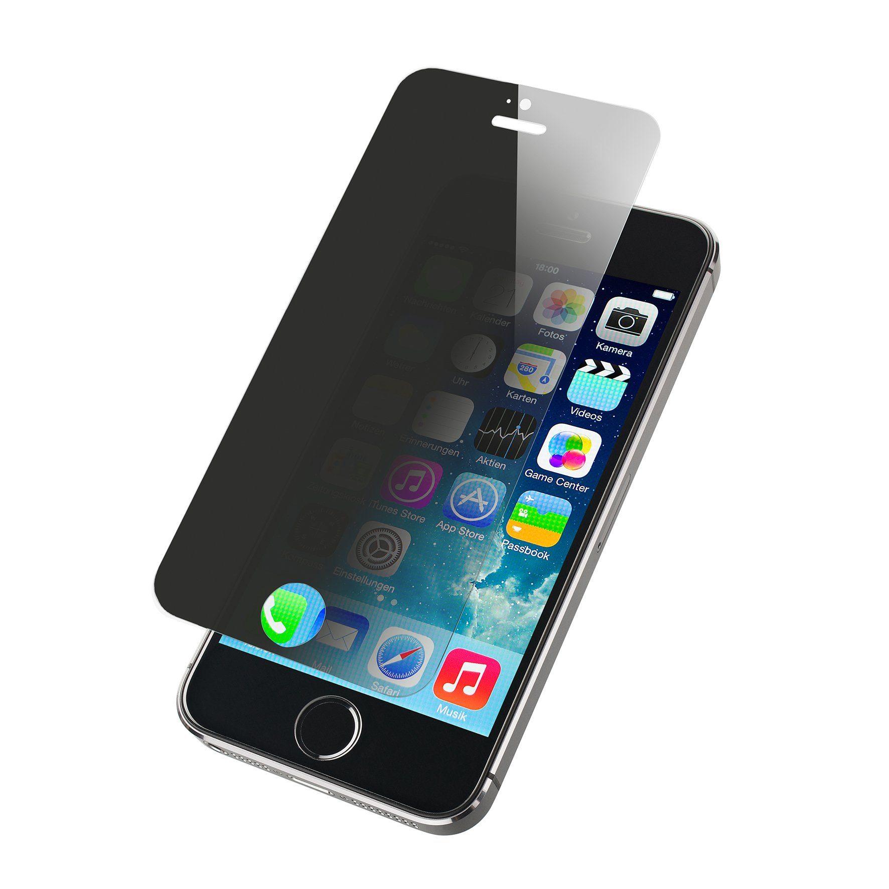 Artwizz Sicherer Displayschutz aus gehärtetem Glas »2nd Display Privacy für iPhone 5/5c/5s«
