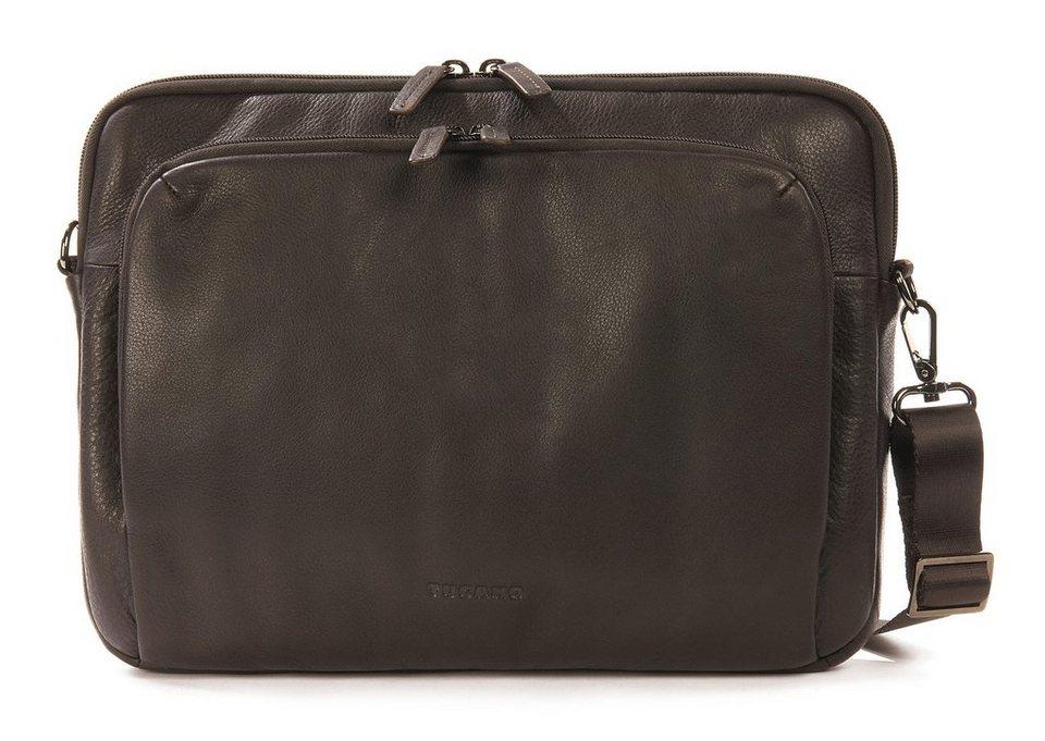 Tucano Schlanke Ledertasche für Notebooks bis 13 Zoll »One Premium Sleeve 13« in Braun