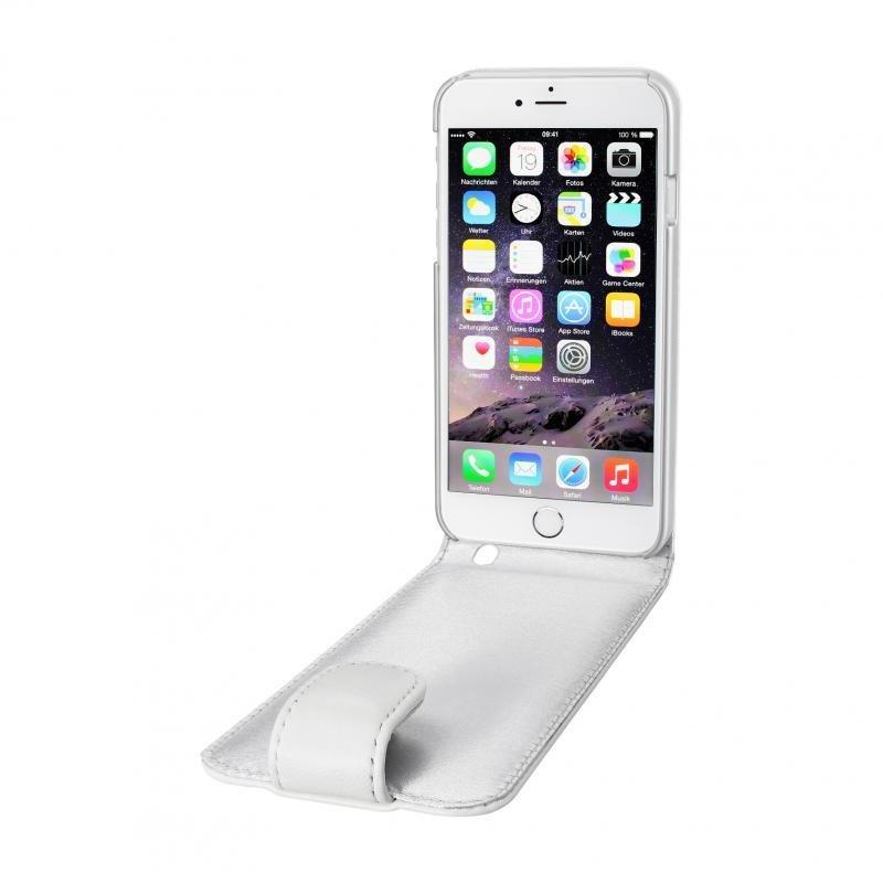 Artwizz Elegante Lederhülle mit sicherem Rundumschutz »SeeJacket Leather FLIP for iPhone 6/6s« in Weiss