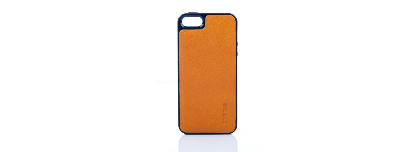 Knomo Leder-Hartschale »OpenFace für iPhone 5/5s, SE«