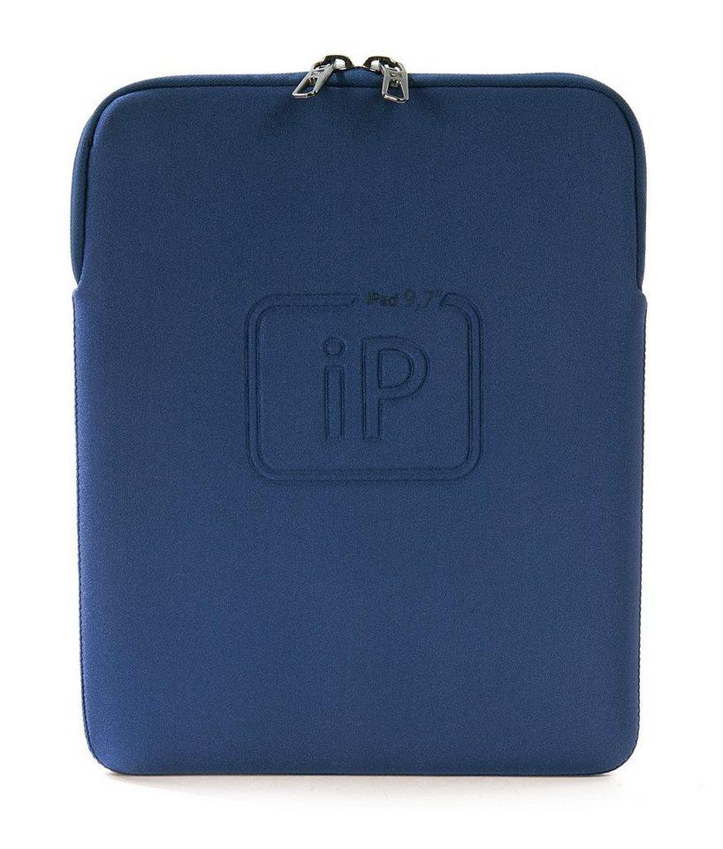 Tucano Maßgeschneiderte Neoprenhülle »Second Skin New Elements iPad 9 Zoll« in Blau
