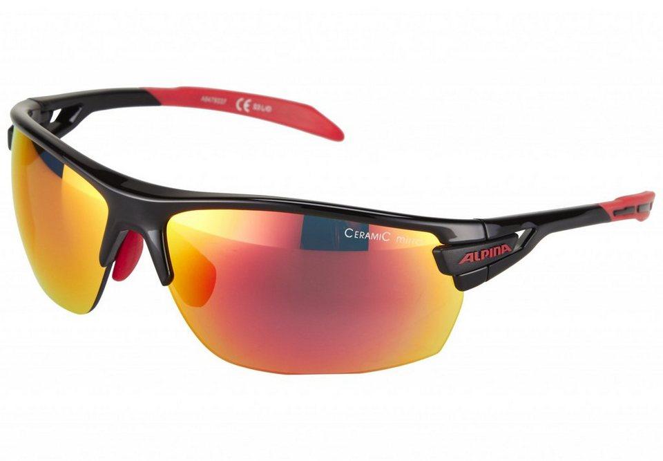 Alpina Radsportbrille »Tri-Scray Brille« in schwarz