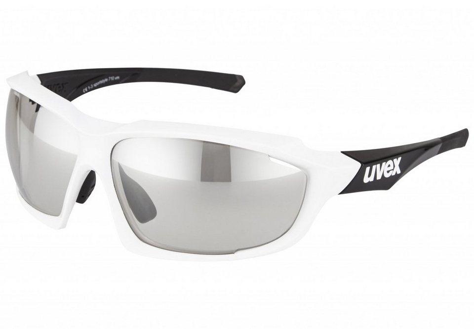 UVEX Radsportbrille »sportstyle 810 v Brille« in weiß