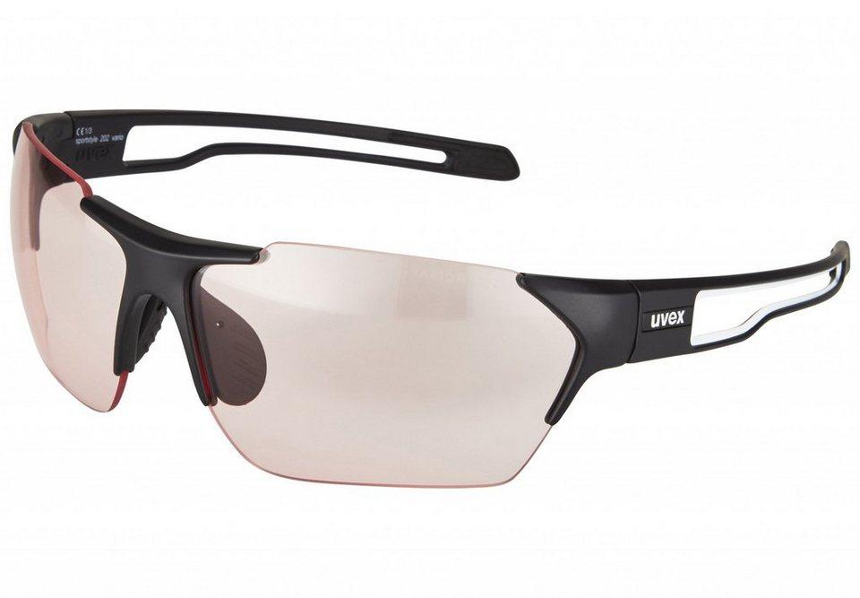 UVEX Radsportbrille »sportstyle 202 vario Brille« in schwarz