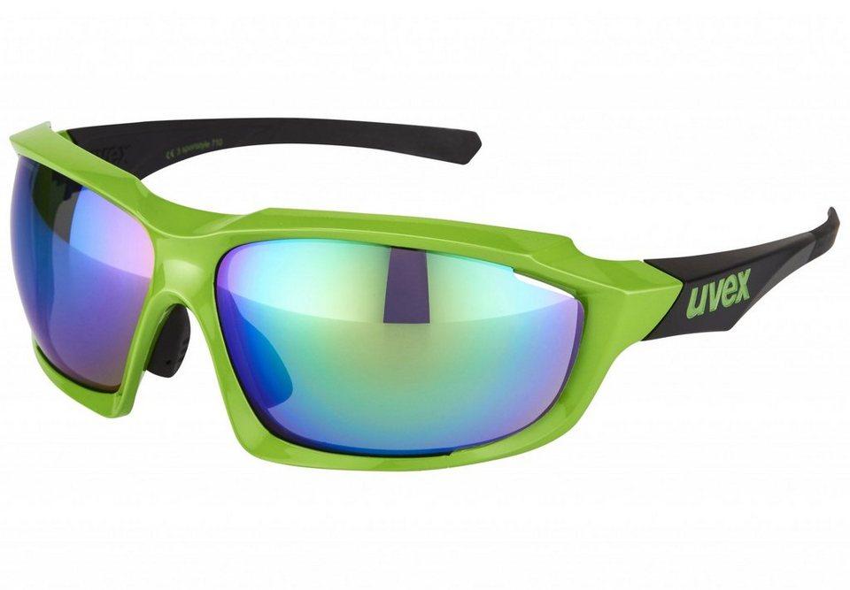 Uvex Radsportbrille »sportstyle 710 Brille« in grün