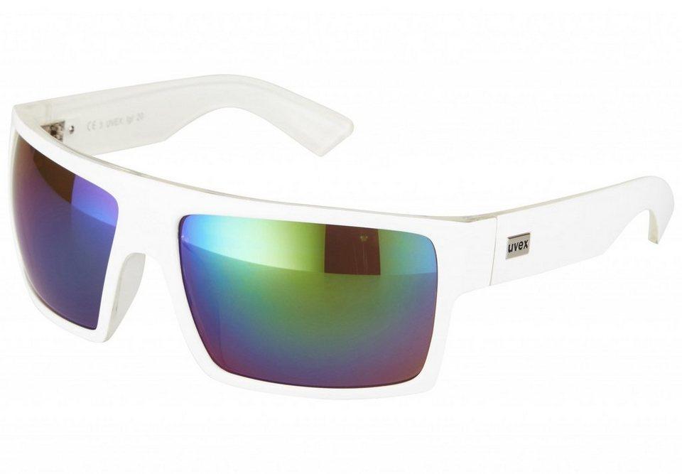 UVEX Radsportbrille »lgl 20 Brille« in weiß