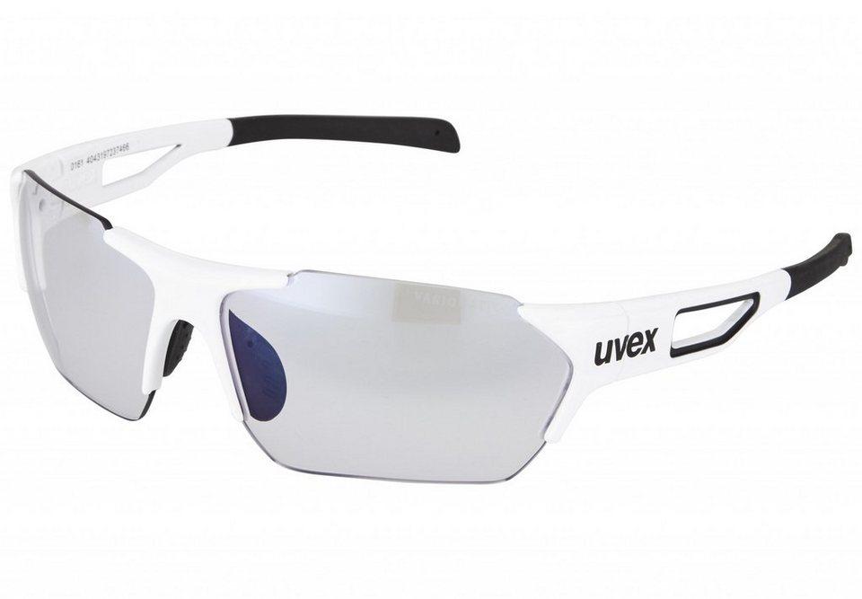 UVEX Radsportbrille »sportstyle 202 small race vm Brille« in weiß