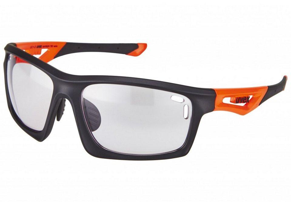 UVEX Radsportbrille »sportstyle 700 vario Brille« in schwarz