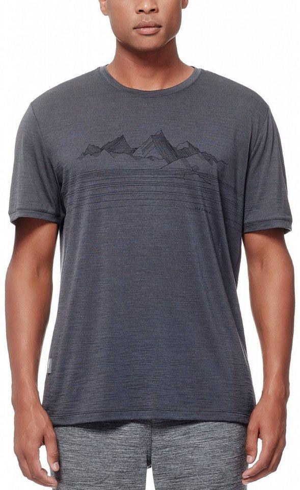 Icebreaker T-Shirt »Tech Lite SS Crewe Men Approach« in grau
