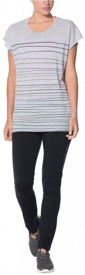 Icebreaker Shirt »Aria Tunic Women Line Print« in grau